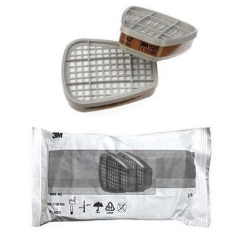 Filtr węglowy pochłaniacz 3M 6051 kpl PROMOCJA