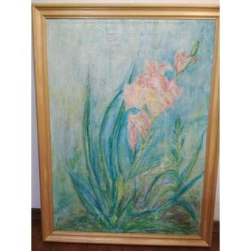 Obraz olejny Kwiat