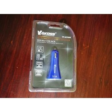 Ładowarka samochodowa USB Vakoss TP-3270UB