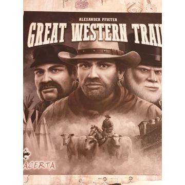 Great Western trail gra planszowa