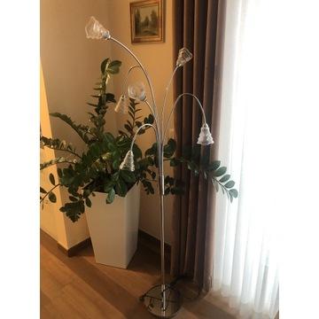 Komplet żyrandol i lampa podłogowa