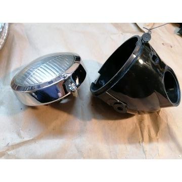 Motorynka ogar kadet nowa lampa z prl-u