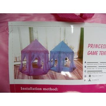 Namiot Domek Zamek dla Dzieci Pałac do Domu Ogrodu