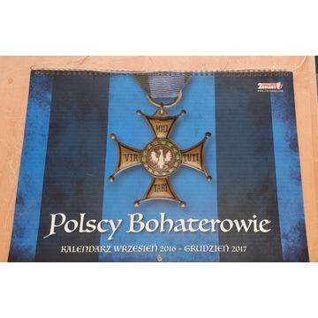 Kalendarz -Polscy Bohaterowie-