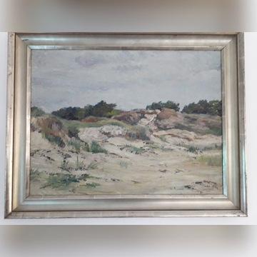Obraz WYDMY, 1936 r. Christensen