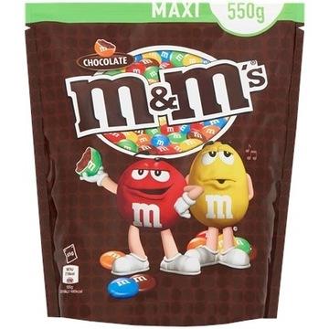 M&M's Czekolada 550 gramów