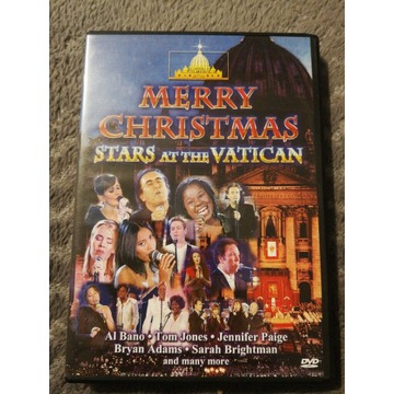 Merry Christmas Stars at the Vatican dvd