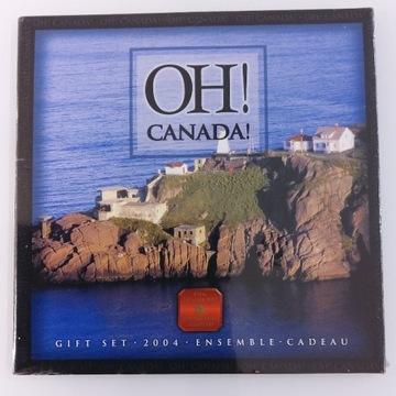 Kanada Zestaw monet kanadyjskich 2004 r. st.mennic
