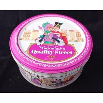 Pudełko metalowe Mackintosh's Quality Street
