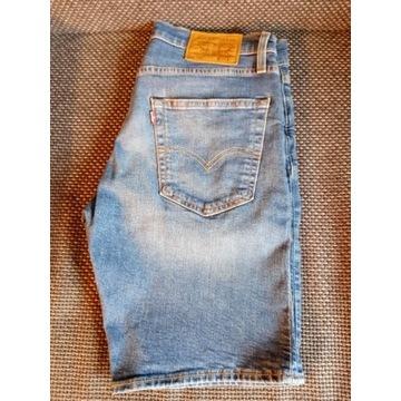 Levi's 502 W 30 Szorty Jeans Jak Nowe