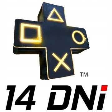 PLAYSTATION PLUS 14 DNI  - EXPRESS w 3 MINUTY - P