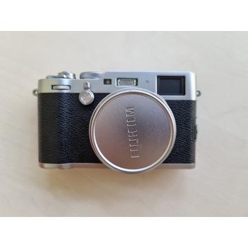Fujifilm X100F srebrny - jak nowy