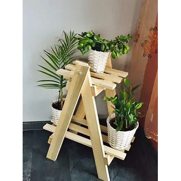 KWIETNIK drewniany piętrowy, regał,drabinka