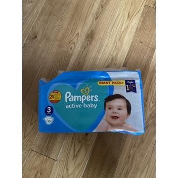 Pieluchy Pampers active baby roz. 3 104 szt.