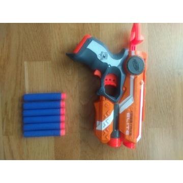 Pistolet NERF FIRESTRIKE ELITE 6 pocisków