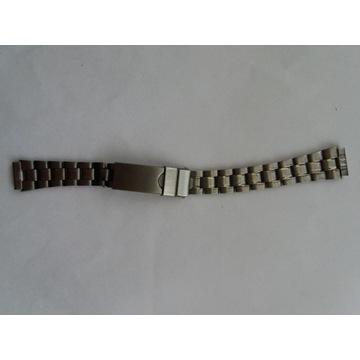 Bransoleta stalowa 12 mm z zabezpieczeniem