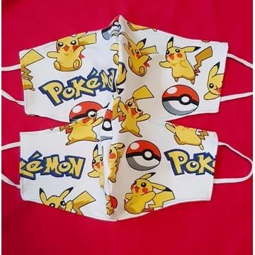 Maseczki Pokemon