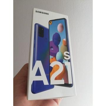 NOWY Samsung A21s zaplombowany fabrycznie