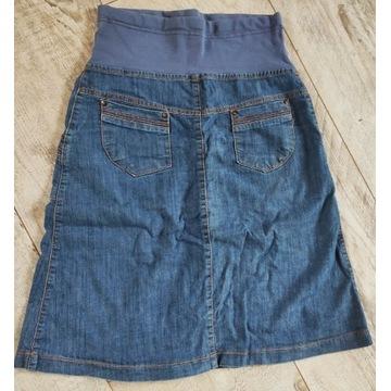 Spódnica ciążowa jeans rozmiar S/M