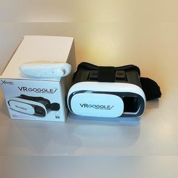 Gogle VR Wirtualna rzeczywistość