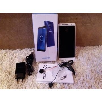 Telefon komórkowy Alcatel 3C Dual SIM złoty