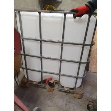 Zbiornik 1000L na wodę, deszczówkę ,paliwo,