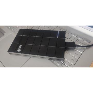 Dysk Zewnętrzny HGST 500GB Nowa obudowa Silver Mon