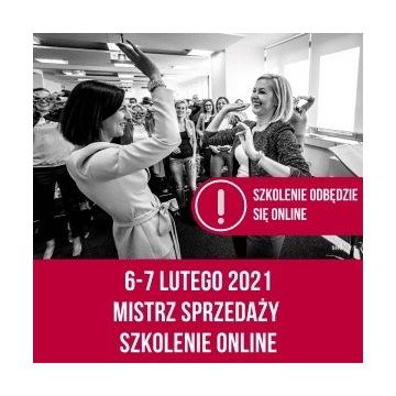 Szkolenie online Mistrz Sprzedaży 6-7 luty Rowińsk