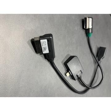 KABLE ZŁĄCZE AMI USB 2G 3G Audi VW