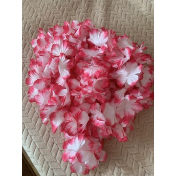 Kwiaty hawajskie różowe. Wieczór panieński