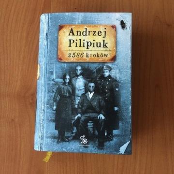 Andrzej Pilipiuk 2586 kroków autograf uniwersalny