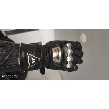 Rękawice Dainese metalowe wstawki rozmiar M\L