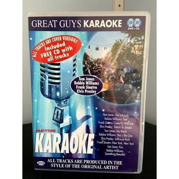 GREAT GUYS KARAOKE - PARTYTIME - DVD+CD