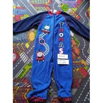 Pajacyk, piżamka do spania, polar NOWE r. 98-104