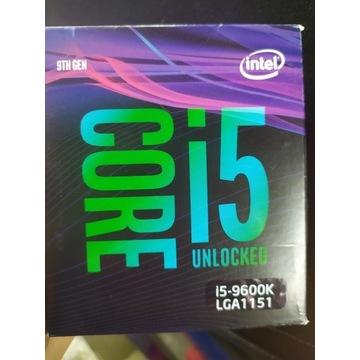 Procesor Intel Core i5-9600K 3,7 GHz Promocja