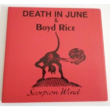 DEATH IN JUNE & BOYD RICE - SCORPION WIND
