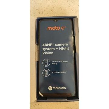 Motorola moto e7; 4000mAh; 48MP;