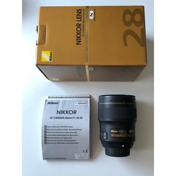 Nikon AF-S Nikkor 28mm f/1,4E ED