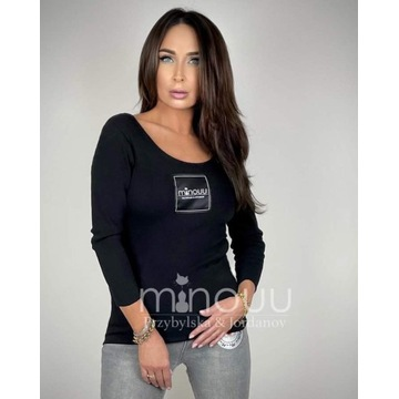 Bluzka damska Minouu czarna