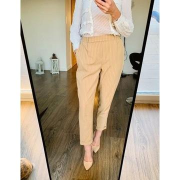 Eleganckie NOWE spodnie w kant cropp r. M/38