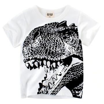 NOWA koszulka z dinozaurem roz. 134/140