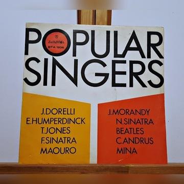 Popular Singers, winyl