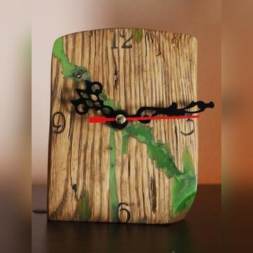 zegar dębowy