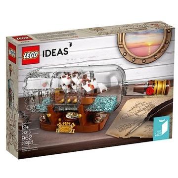 Lego 21313 Statek w butelce