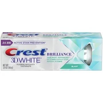 Pasta do zębów CREST BRILANCE BLAST 3D z USA