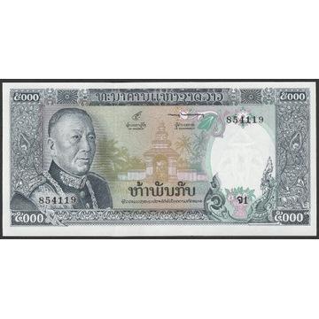 Laos 5000 kip 1974 - Savang Vatthana - stan UNC