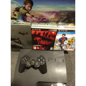 Konsola PS3 Batman Dead Island Fifa PAD