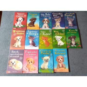 15 ksiązek Holly Web i 5 książek A.Stelmaszyk