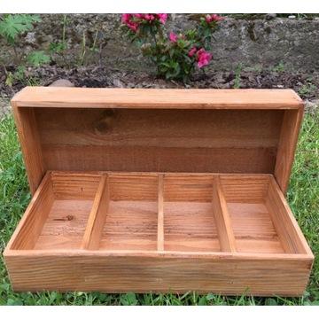 Pudełka drewniane na prezent