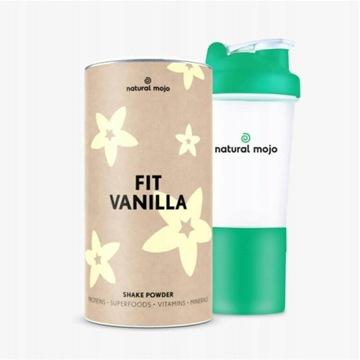 NATURAL MOJO FIT SHAKE-Zestaw Fit Vanilla + shaker